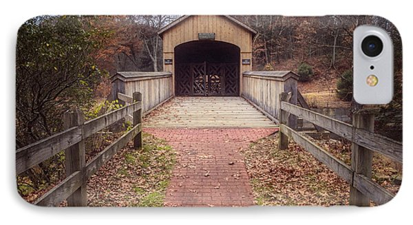 Comstock Covered Bridge 2 IPhone Case