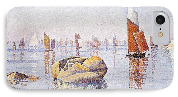 Concarneau   Quiet Morning Phone Case by Paul Signac