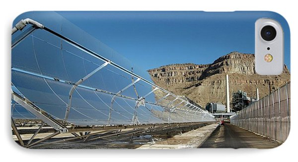 Concentrating Solar Power Plant IPhone Case by Us Department Of Energy