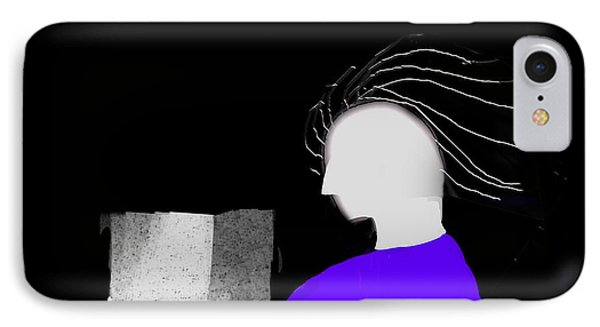 IPhone Case featuring the digital art Concentration by Asok Mukhopadhyay