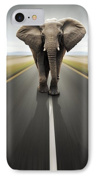 Heavy Duty Transport / Travel By Road IPhone Case