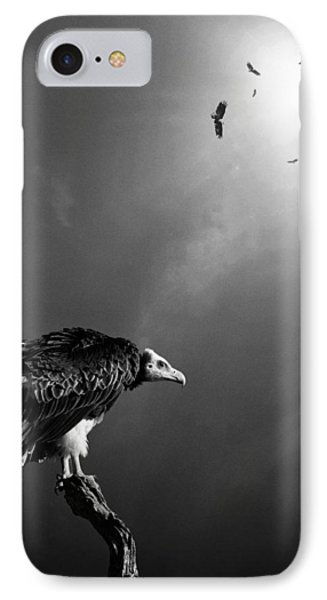 Conceptual - Vultures Awaiting IPhone 7 Case