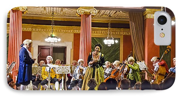 Concert In Vienna IPhone Case by Jon Berghoff
