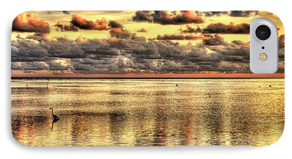 IPhone Case featuring the photograph Conch Key Bay Sunset by Julis Simo