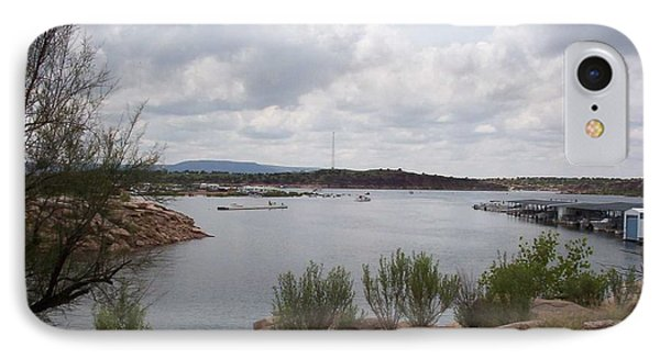 Conchas Dam IPhone Case by Sheri Keith