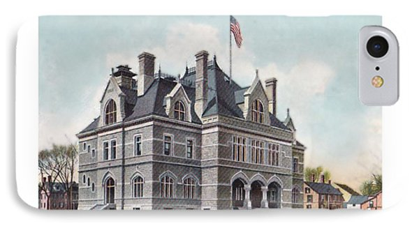 Concord New Hampshire - United States Post Office - North State Street - 1905 IPhone Case