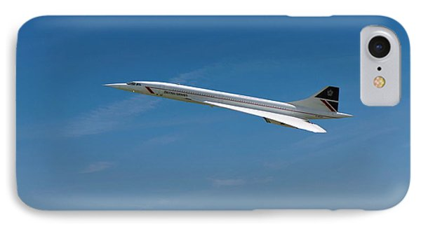 Concorde At Harvest Time IPhone Case by Paul Gulliver