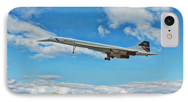 Concorde On Finals IPhone Case by Paul Gulliver