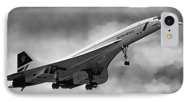 Concorde Supersonic Transport S S T IPhone Case