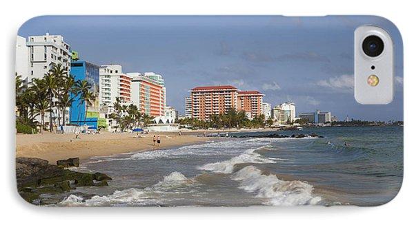 Condado Beach San Juan Puerto Rico IPhone Case