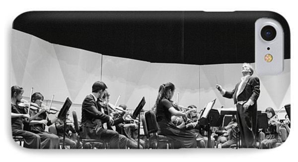 IPhone Case featuring the photograph Conductor Jeff Edmons by Hugh Smith