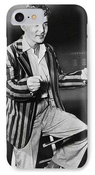 Conductor Leonard Bernstein IPhone Case