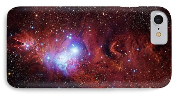 Cone Nebula And Christmas Tree Cluster IPhone Case by Robert Gendler