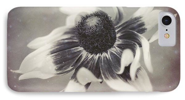 Coneflower In Monochrome IPhone Case by Beverly Stapleton