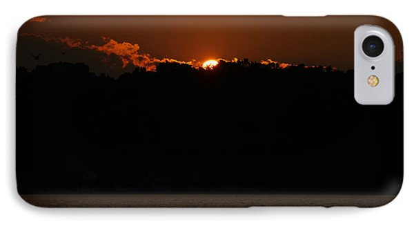 Conesus Lake At Dusk Phone Case by Steve Clough