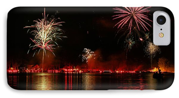 Conesus Ring Of Fire IPhone Case by Richard Engelbrecht