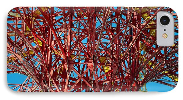 Coney Island Abstract Expressionist IPhone Case