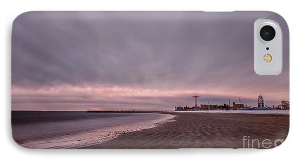 Coney Island Bound IPhone Case by Evelina Kremsdorf