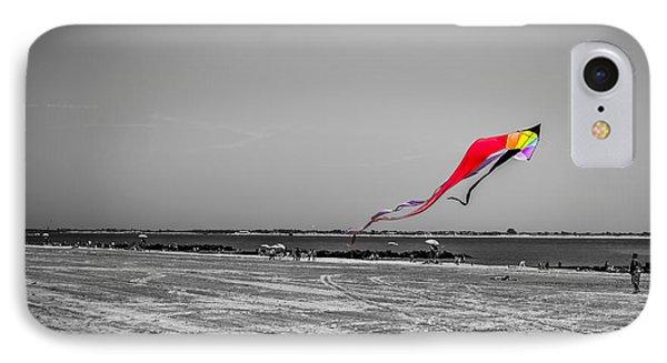 Coney Island Kite IPhone Case by Rafael Quirindongo