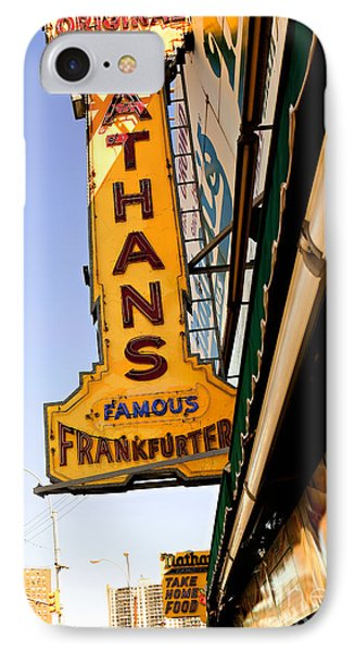 Coney Island Memories 1 IPhone Case by Madeline Ellis