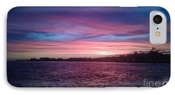 Coney Island Summertime Sunset IPhone Case