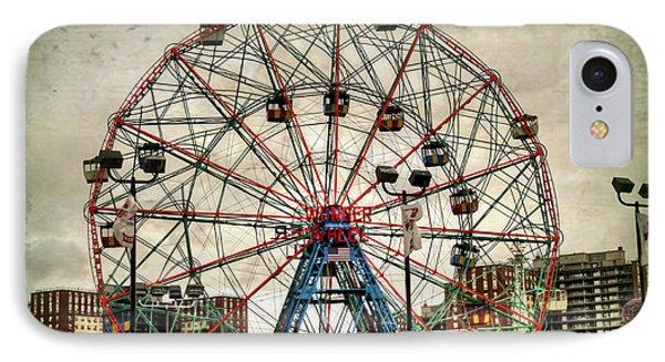 Coney Island Wonder Wheel  IPhone Case