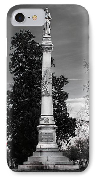 Confederate Monument IPhone Case