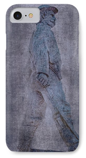 Soldier Statue Vii Alabama State Capitol IPhone Case by Lesa Fine