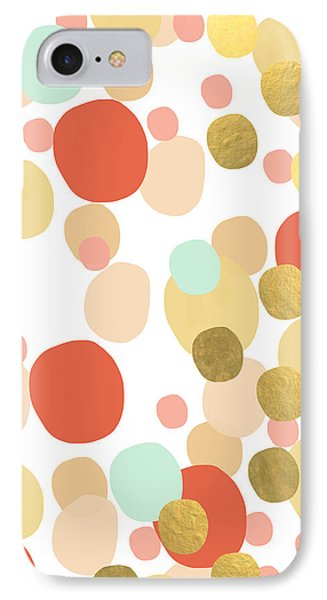 Confetti- Abstract Art IPhone Case by Linda Woods