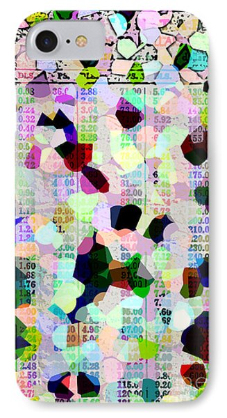 Confetti Table IPhone Case by Ecinja Art Works
