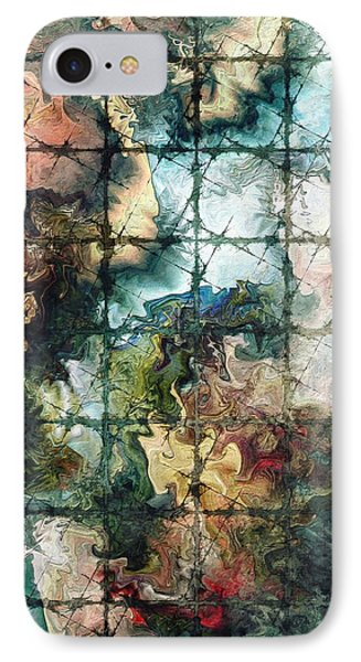 IPhone Case featuring the digital art Confined by Kim Redd