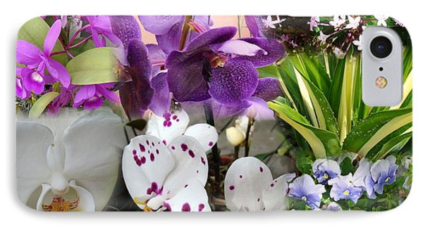 Confluent Flowers 2 IPhone Case