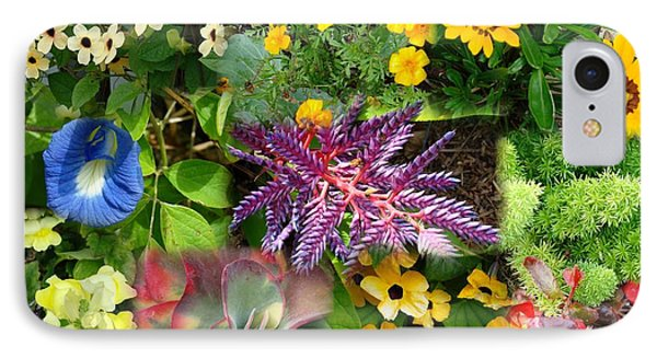 Confluent Flowers 3 IPhone Case