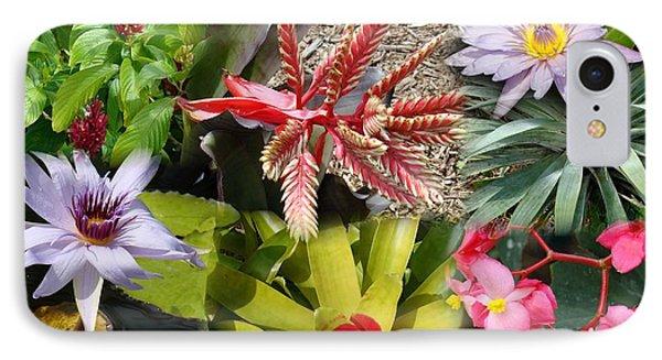 Confluent Flowers 4 IPhone Case
