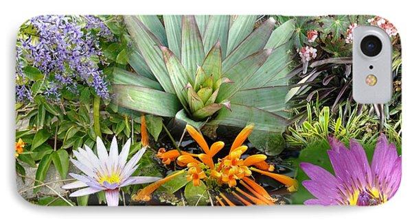 Confluent Flowers 5 IPhone Case