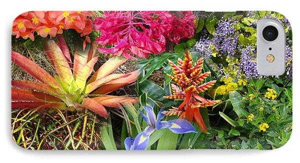 Confluent Flowers 6 IPhone Case