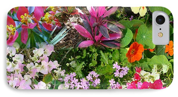 Confluent Flowers 7 IPhone Case