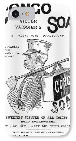 Congo Soap, 1891 IPhone Case