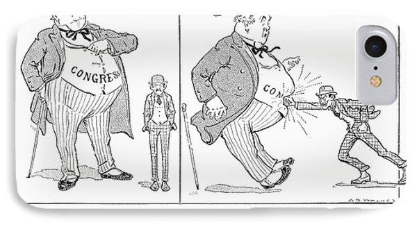 Congress Cartoon, 1916 IPhone Case by Granger