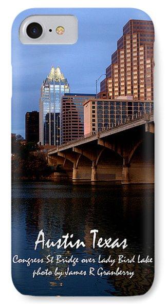 Congress St Bridge IPhone Case
