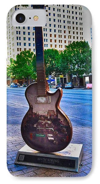 Congress Avenue Sixth String IPhone Case