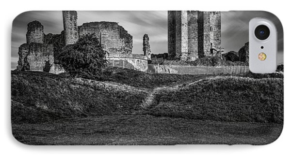 Conisbrough Castle Doncaster IPhone Case by Ian Barber