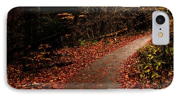 Conkle's Hollow Path IPhone Case by Haren Images- Kriss Haren