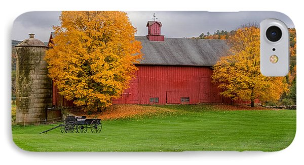 Connecticut Autumn Phone Case by Bill Wakeley