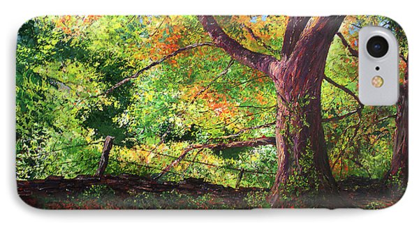 Connecticut Autumn IPhone Case