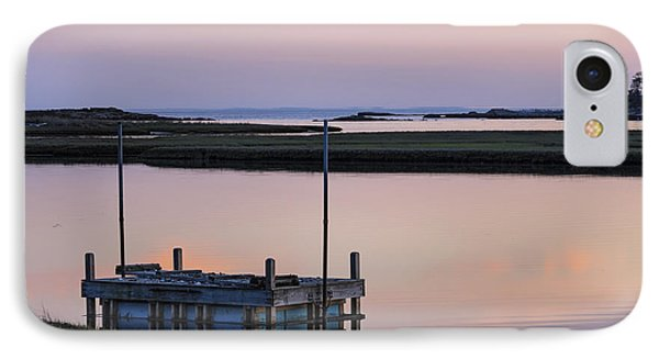 Connecticut Backwaters Sunset With Dock Series 4 IPhone Case