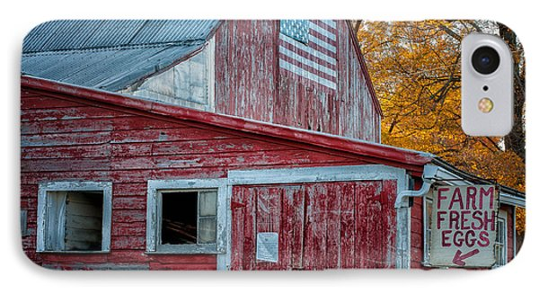 Connecticut Farmstand Phone Case by Thomas Schoeller