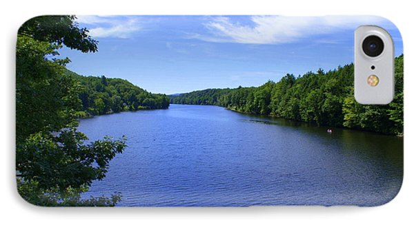 Connecticut River Summer IPhone Case by Lois Lepisto
