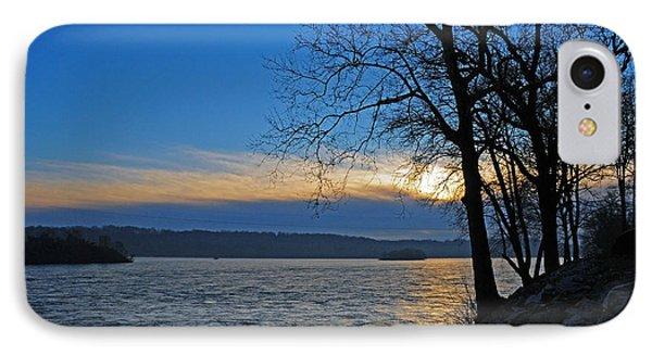 IPhone Case featuring the photograph Conowingo Sunrise by Olivia Hardwicke