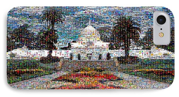 Conservatory Of Flowers IPhone Case by Wernher Krutein
